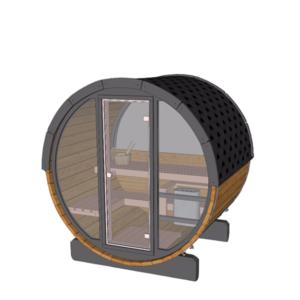 Terrace sauna